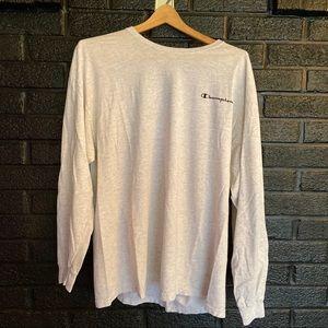 Vintage champion long sleeve shirt size XL
